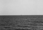 Boats at Sea #1, (Pacific Coast), 1991/92 19″x19″ B&W Photograph