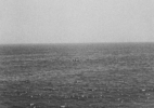 Boats AT Sea #2, (Pacific Coast), 1991/92 19″x19″ B&W Photograph