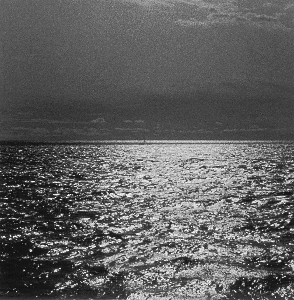John Divola, Four Landscapes Portfolio, Boats at Sea