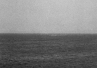 Boats AT Sea #5, (Pacific Coast), 1991/92 19″x19″ B&W Photograph