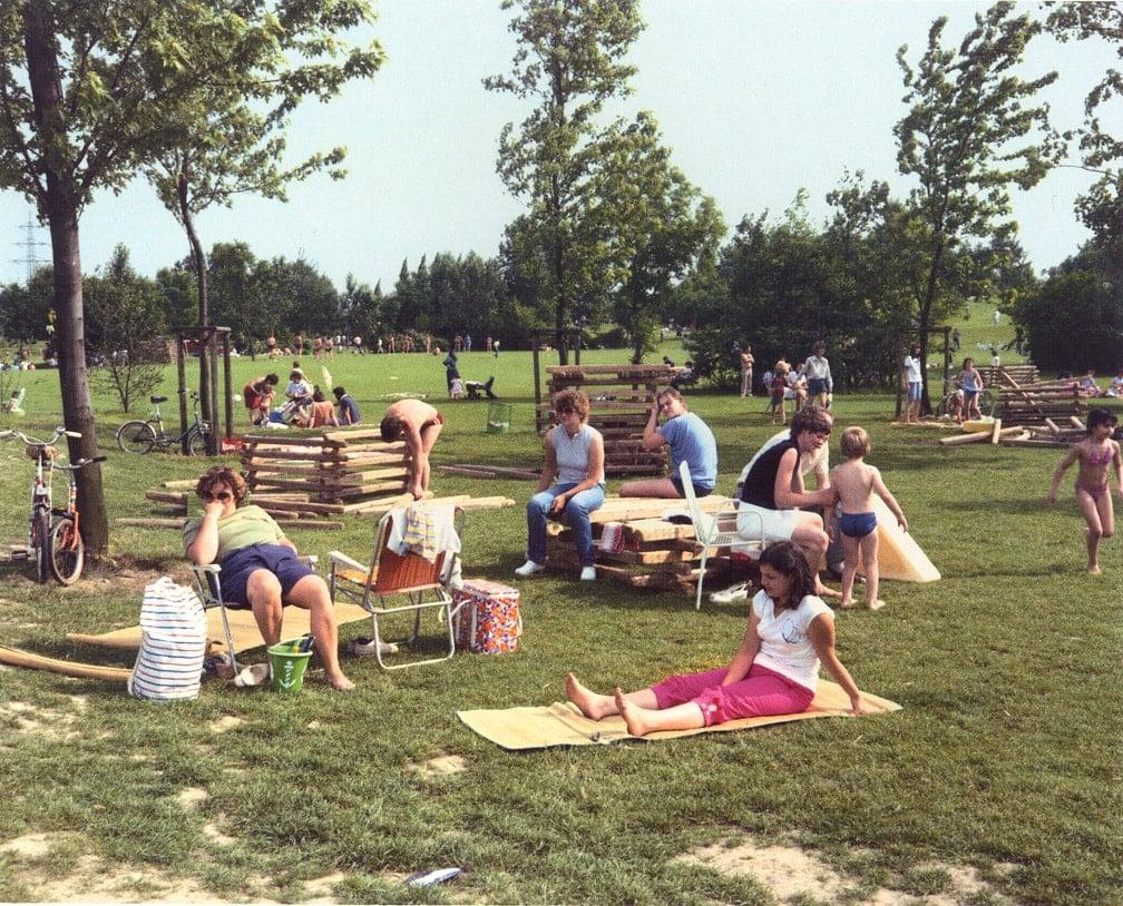 Gelsenkirchen (Park Scene)