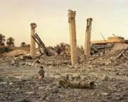 Looting the Air Force Officer's Club, Baghdad, 2003 Fujicolor crystal archive print 19.2 x 24 inches, 40 x 50 inches