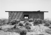 """Rancho Seco #5, 2006 Gelatin silver print mounted to 16"""" x 20"""" archival board, with graphite lettering 8 x 10 inches"""