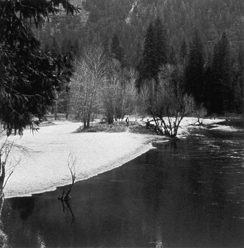 Occupied Landscape #1, (Yosemite), 1991/92 19″x19″ B&W Photograph