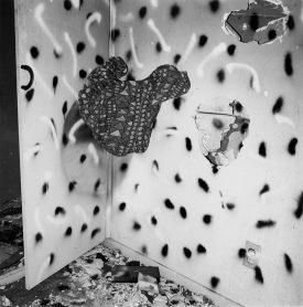 John Divola, Vandalism
