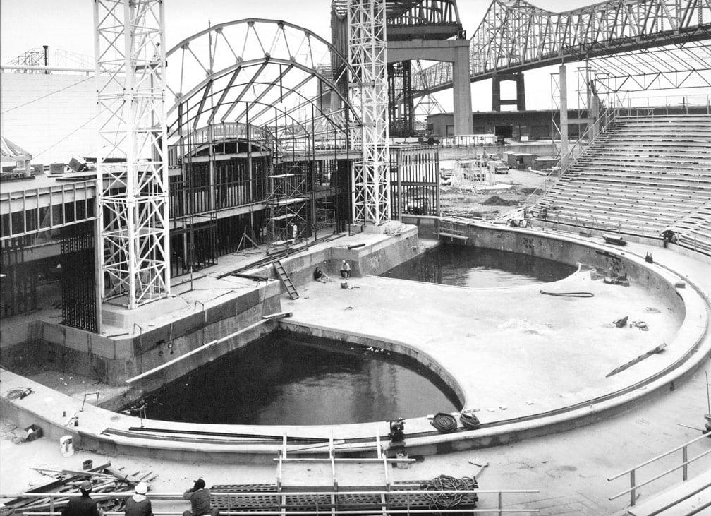 Aquacade,Construction