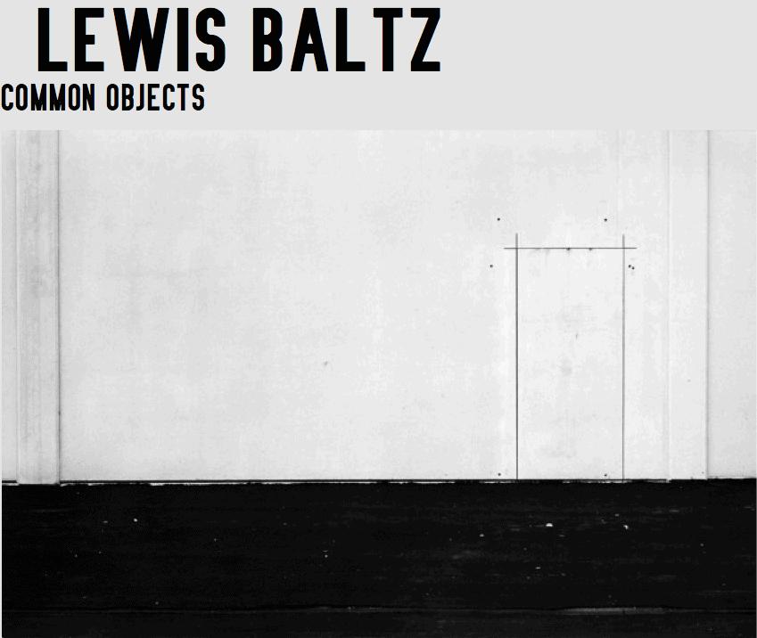 Lewis Baltz, Mission Viejo, 1968