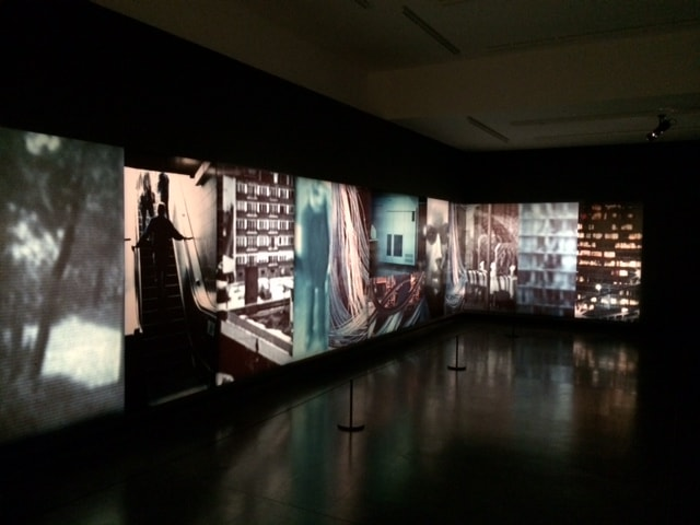 Lewis Baltz, Ronde de Nuit, 1991-'92, 12-element installation at Le BAL