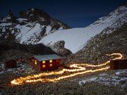 Simon Norfolk, Stratographs, Lewis Glacier, Mt. Kenya