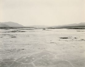 Wide flat desert expanse with mountains in background, Mark Ruwedel, Pictures of Hell