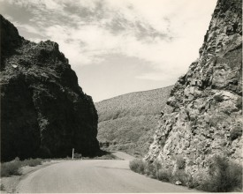 Smooth road going through sheer rocky pass, Mark Ruwedel, Pictures of Hell