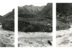 Devils Gate Triptych (Wasatch Range / Weber River, Union Pacific Railroad, After Carlton Watkins)