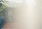 Burnt Out Trailer w/ Sun