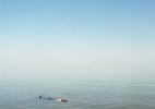 Boy Floating in Water