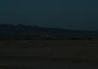 Desert Town at Night