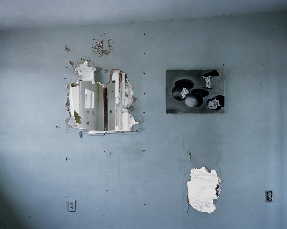 John Divola, Abandoned Paintings