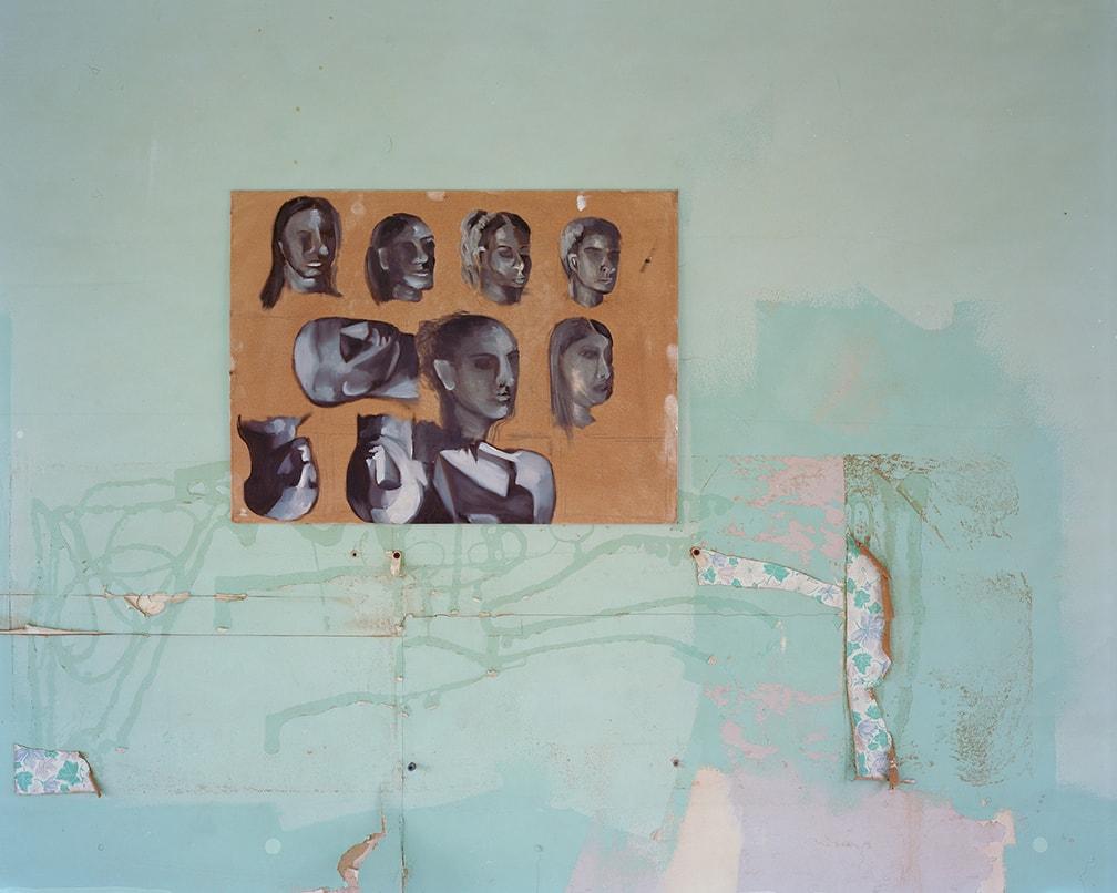 John Divola, Abandoned Paintings