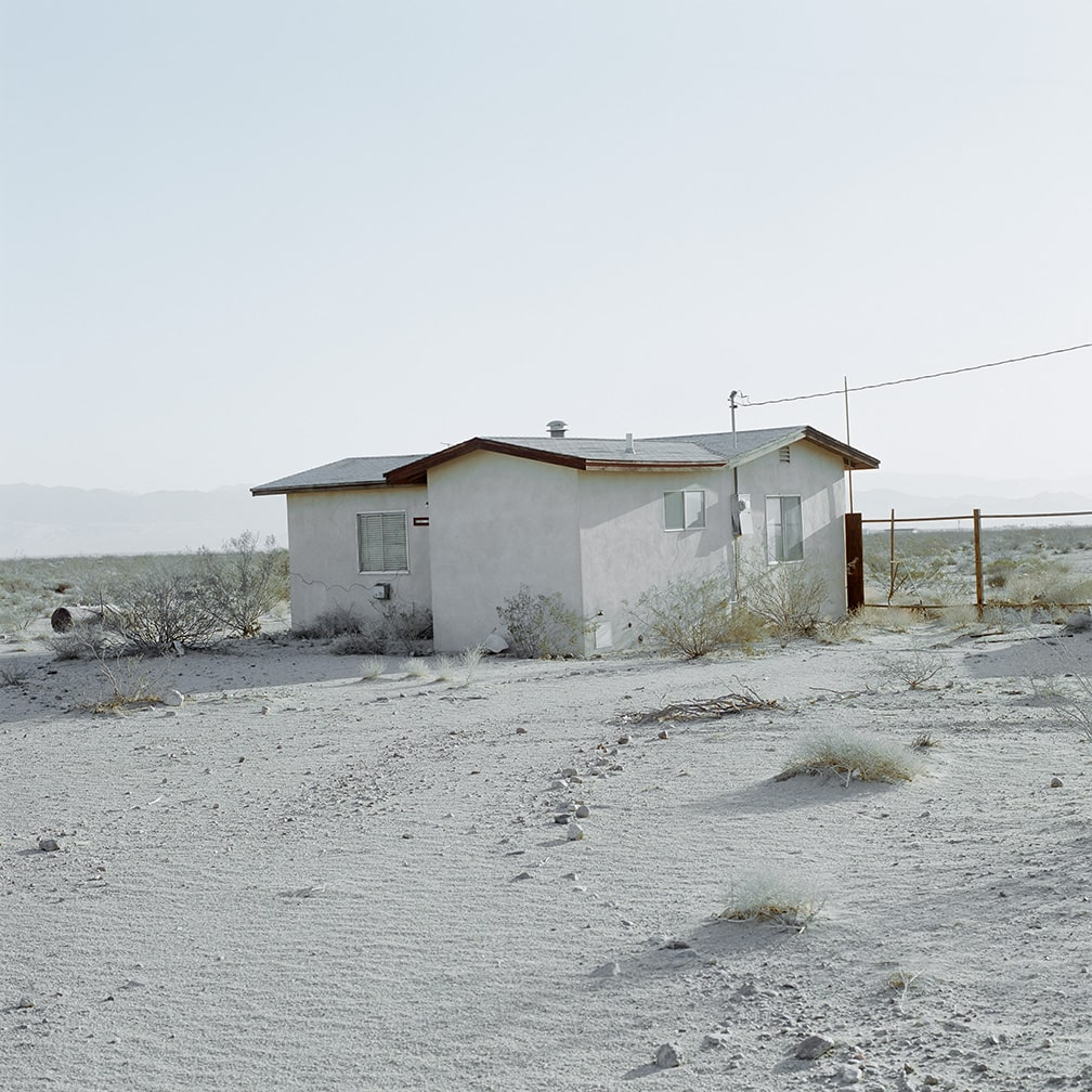 John Divola - Isolated Houses