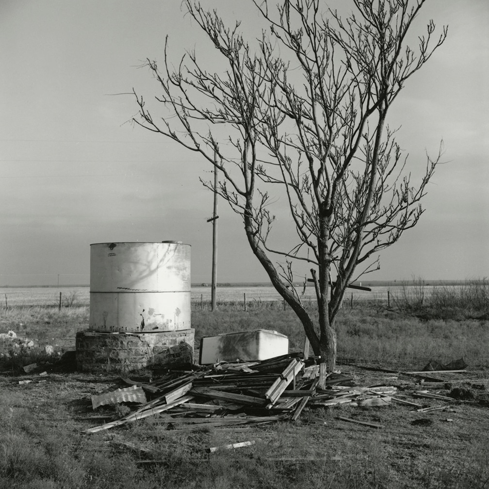 Cistern for a House Destroyed by Fire, Ross Family Ranch, Jolly, Texas, 1972/2016