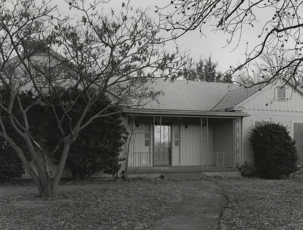 Front of 2201 Wenonah, Where I Grew Up – Wichita Falls, Texas, 1978/2016