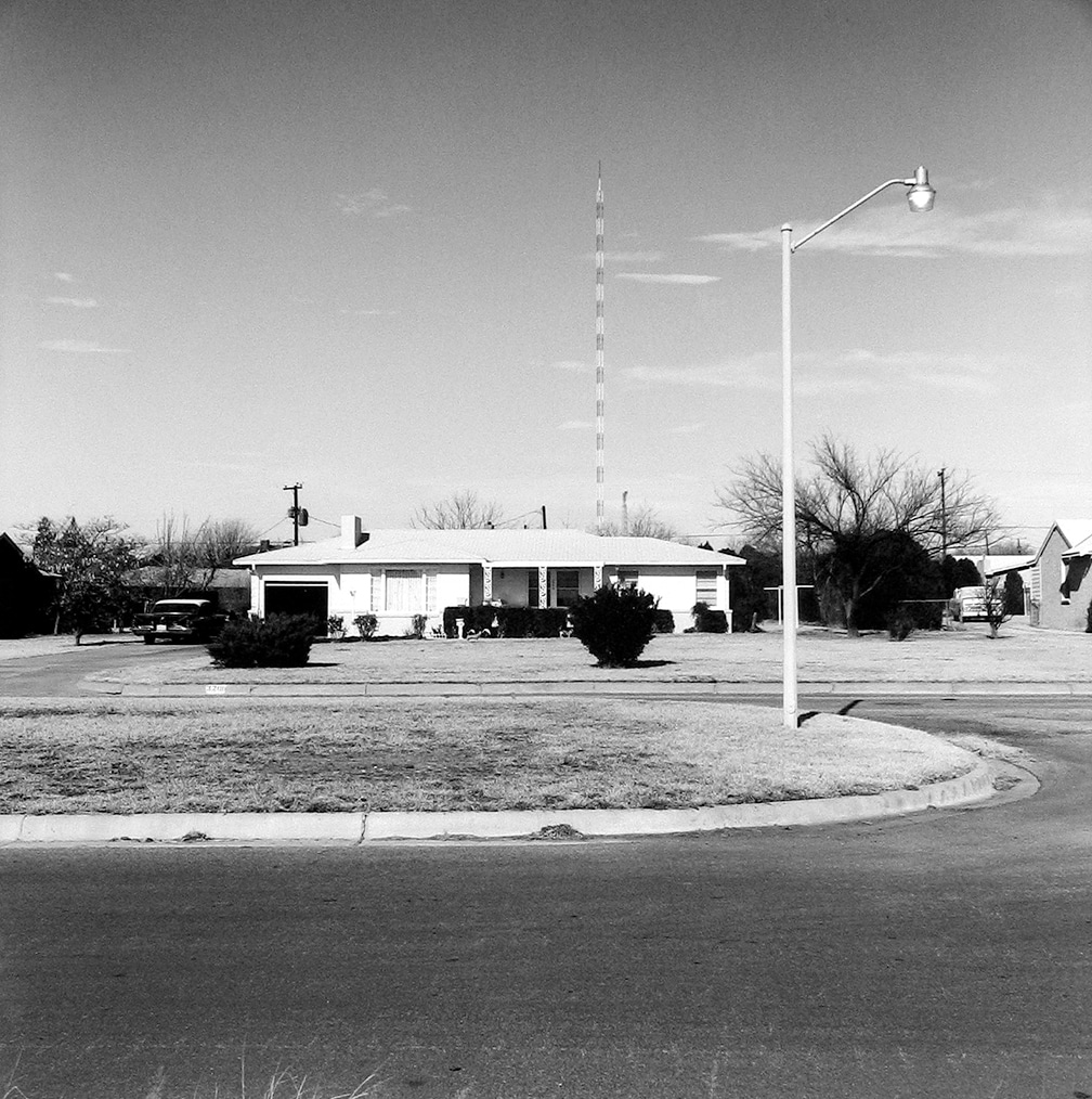 Kessler Blvd. (3206 Kessler) looking north – Wichita Falls, Texas, 1972/1974