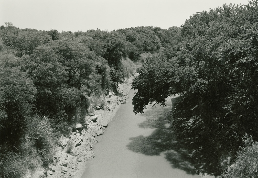 Little Wichita River, near Byers, Texas, 1998/2016