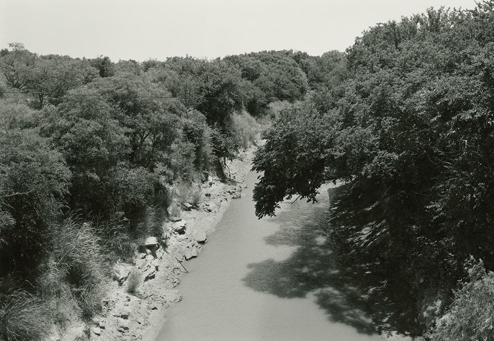 Little Wichita River, near Byers, Texas, 1998/2016