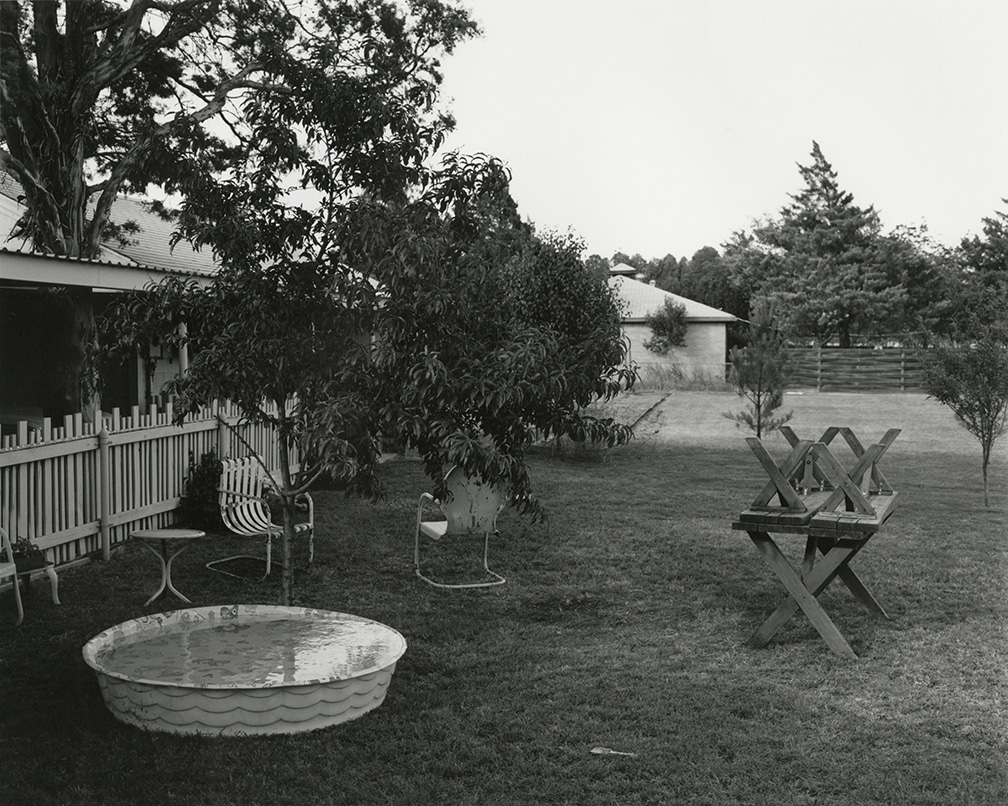 Texas Memories #1: Backyard of my Parent's Home, 2201 Wenonah, Wichita Falls, Texas, 1984/1988