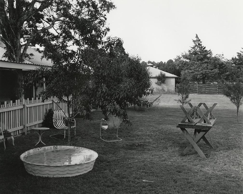 Texas Memories #1: Backyard of my Parent's Home, 2201 Wenonah, Wichita Falls, Texas, 1984/1988