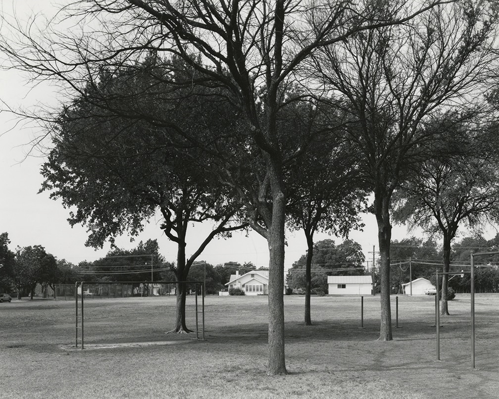 Texas Memories #2: Playground of David Crockett Elementary School where I Attended Grades 1-7, Wichita Falls, Texas, 1984/1988