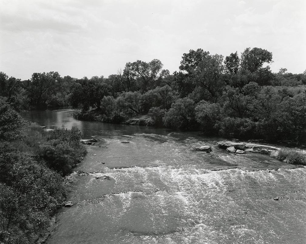 Texas Memories #4: Wichita River, between Petrolia and Charlie, Texas, 1984/1988