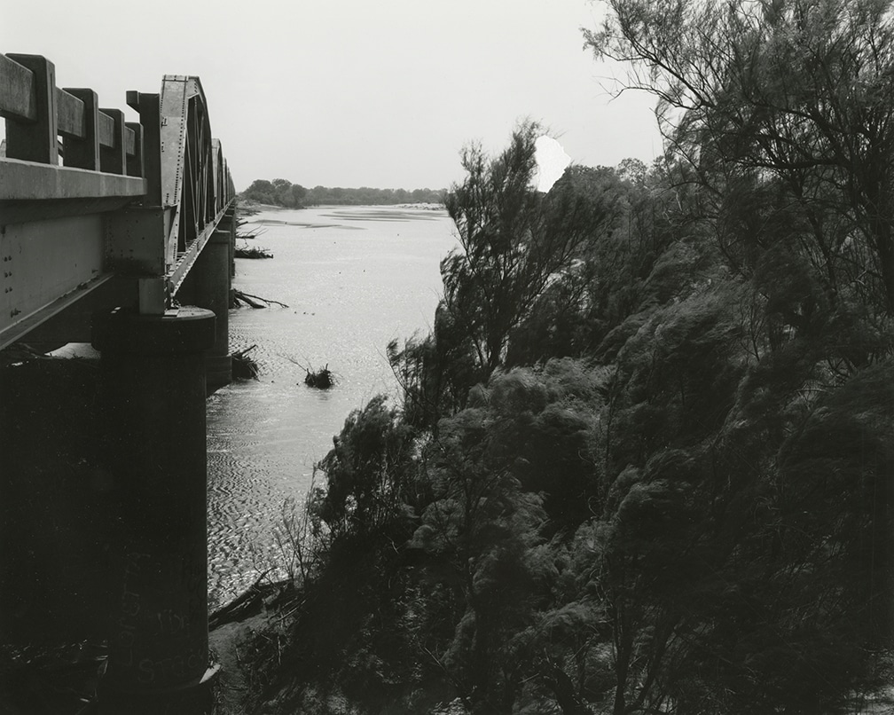 Texas Memories #6: Looking South Across the Red River – near Byers, Texas, 1984