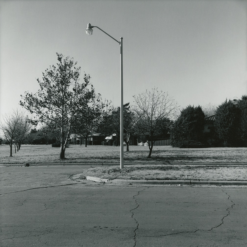 Wenonah Blvd., looking west – Wichita Falls, Texas, 1972/1973