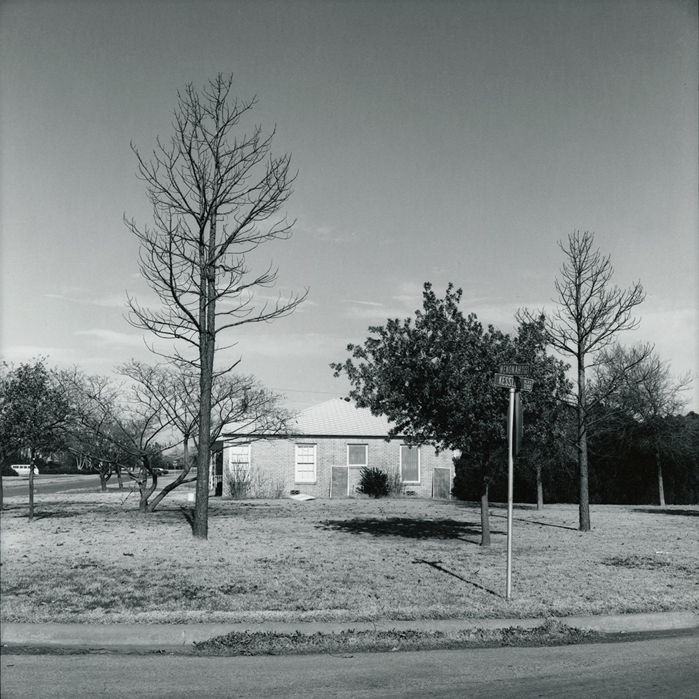 Wenonah and Kessler – looking north – Wichita Falls, Texas, 1972/1974