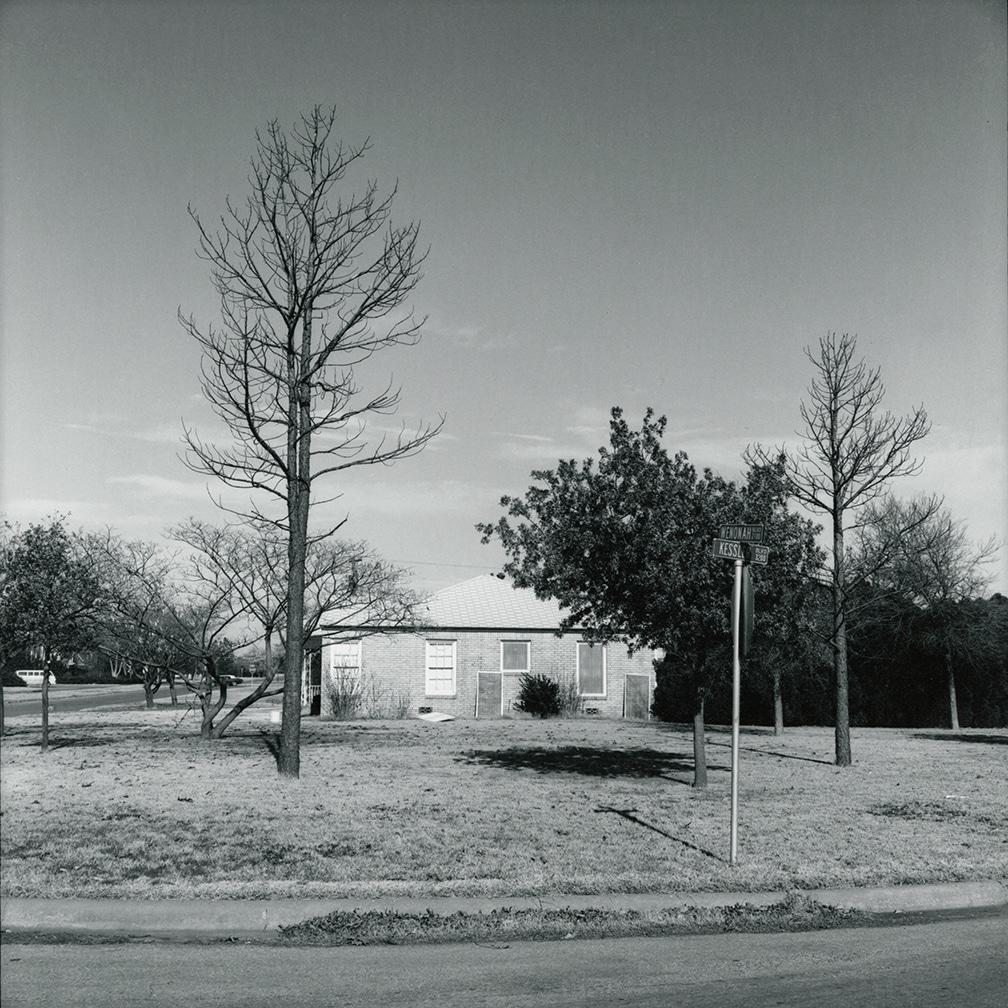 Wenonah and Kessler – looking north – Wichita Falls, Texas, 1972/1974