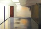 Bellevue Hallway 2009 oil on canvas 38×62