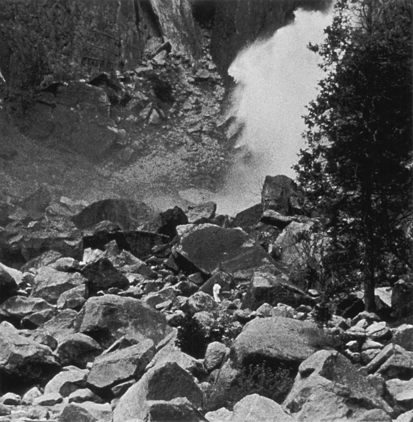 Occupied Landscape #2, (Yosemite), 1989/92 19″x19″ B&W Photograph