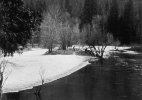 Occupied Landscape #1, (Yosemite), 1991/92 19″x19″ B&W Photograph